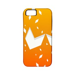 Cute Orange Copy Apple Iphone 5 Classic Hardshell Case (pc+silicone) by Jojostore