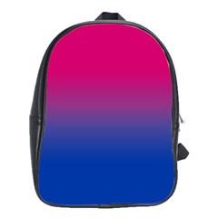 Pink Blue Purple School Bags(large)  by Jojostore