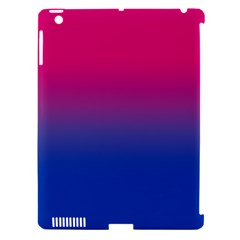 Pink Blue Purple Apple Ipad 3/4 Hardshell Case (compatible With Smart Cover) by Jojostore