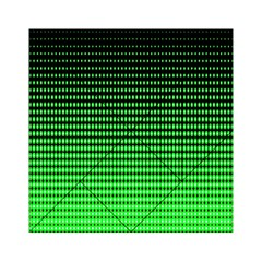 Neon Green And Black Halftone Copy Acrylic Tangram Puzzle (6  X 6 ) by Jojostore
