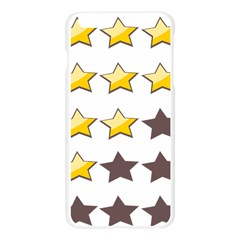 Star Rating Copy Apple Seamless iPhone 6 Plus/6S Plus Case (Transparent) by Jojostore