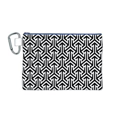 Tramas On Pinterest Geometric Patterns Canvas Cosmetic Bag (m) by Jojostore