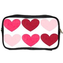 Valentine S Day Hearts Toiletries Bags by Jojostore