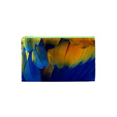 Parrots Feathers Cosmetic Bag (xs) by Jojostore