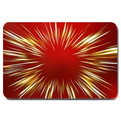 Color Gold Yellow Background Large Doormat  by Amaryn4rt