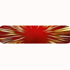 Color Gold Yellow Background Large Bar Mats