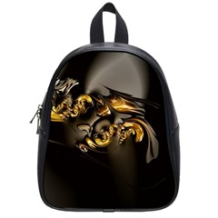 Fractal Mathematics Abstract School Bags (small)  by Amaryn4rt