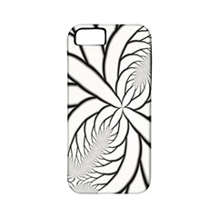 Fractal Symmetry Pattern Network Apple Iphone 5 Classic Hardshell Case (pc+silicone) by Amaryn4rt