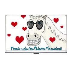 Don t Wait For Prince Sharming Business Card Holders by Valentinaart