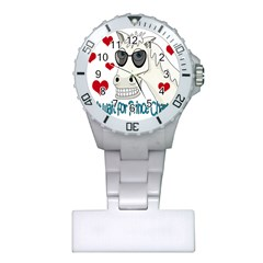 Don t Wait For Prince Sharming Plastic Nurses Watch by Valentinaart