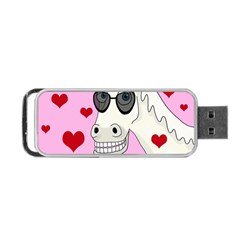 Don t Wait For Prince Charming Portable Usb Flash (two Sides) by Valentinaart