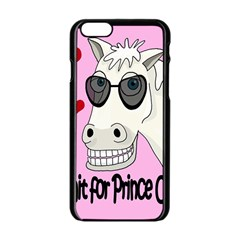 Don t Wait For Prince Charming Apple Iphone 6/6s Black Enamel Case by Valentinaart