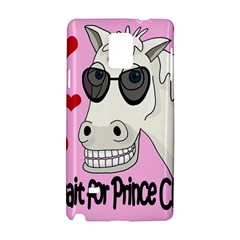 Don t Wait For Prince Charming Samsung Galaxy Note 4 Hardshell Case by Valentinaart