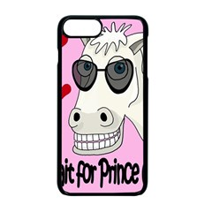 Don t Wait For Prince Charming Apple Iphone 7 Plus Seamless Case (black) by Valentinaart