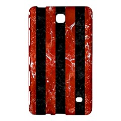 Stripes1 Black Marble & Red Marble Samsung Galaxy Tab 4 (8 ) Hardshell Case  by trendistuff