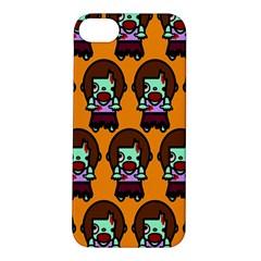 Zombie Woman Fill Orange Apple Iphone 5s/ Se Hardshell Case by Jojostore