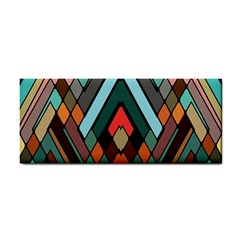 Abstract Mosaic Color Box Cosmetic Storage Cases by Jojostore