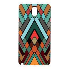 Abstract Mosaic Color Box Samsung Galaxy Note 3 N9005 Hardshell Back Case by Jojostore