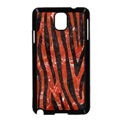 Skin4 Black Marble & Red Marble Samsung Galaxy Note 3 Neo Hardshell Case (black) by trendistuff