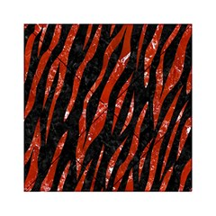 Skin3 Black Marble & Red Marble Acrylic Tangram Puzzle (6  X 6 ) by trendistuff