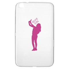 Selfie Girl Graphic Samsung Galaxy Tab 3 (8 ) T3100 Hardshell Case  by dflcprints