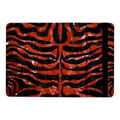 Skin2 Black Marble & Red Marble Samsung Galaxy Tab Pro 10 1  Flip Case by trendistuff