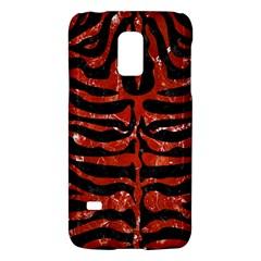 Skin2 Black Marble & Red Marble Samsung Galaxy S5 Mini Hardshell Case  by trendistuff