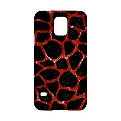 Skin1 Black Marble & Red Marble (r) Samsung Galaxy S5 Hardshell Case  by trendistuff