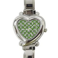Ball Line Heart Italian Charm Watch by Jojostore