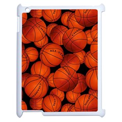 Basketball Sport Ball Champion All Star Apple Ipad 2 Case (white) by Jojostore