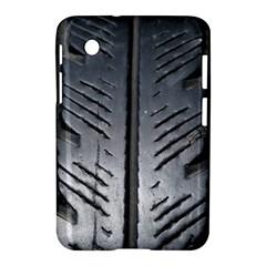 Mature Black Auto Altreifen Rubber Pattern Texture Car Samsung Galaxy Tab 2 (7 ) P3100 Hardshell Case