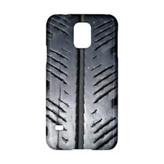 Mature Black Auto Altreifen Rubber Pattern Texture Car Samsung Galaxy S5 Hardshell Case  by Amaryn4rt
