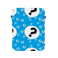 Blue Question Mark Apple Ipad 2/3/4 Protective Soft Cases by Jojostore