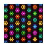 Pattern Background Colorful Design Tile Coasters