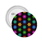 Pattern Background Colorful Design 2.25  Buttons
