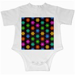 Pattern Background Colorful Design Infant Creepers