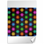 Pattern Background Colorful Design Canvas 24  x 36