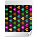 Pattern Background Colorful Design Canvas 36  x 48
