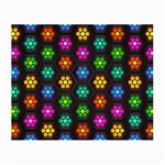 Pattern Background Colorful Design Small Glasses Cloth (2-Side)