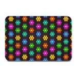 Pattern Background Colorful Design Plate Mats