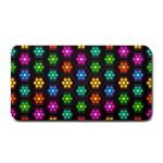 Pattern Background Colorful Design Medium Bar Mats