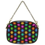 Pattern Background Colorful Design Chain Purses (Two Sides)