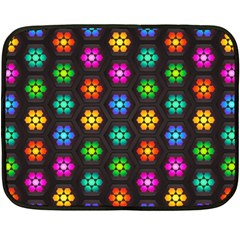 Pattern Background Colorful Design Double Sided Fleece Blanket (mini)  by Amaryn4rt