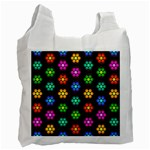 Pattern Background Colorful Design Recycle Bag (Two Side)