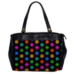 Pattern Background Colorful Design Office Handbags