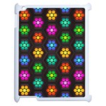 Pattern Background Colorful Design Apple iPad 2 Case (White)