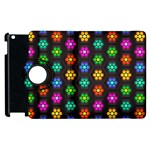 Pattern Background Colorful Design Apple iPad 3/4 Flip 360 Case