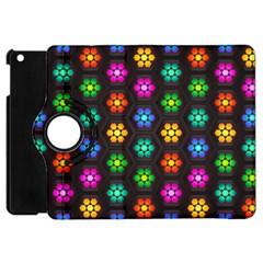 Pattern Background Colorful Design Apple Ipad Mini Flip 360 Case by Amaryn4rt
