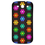 Pattern Background Colorful Design Samsung Galaxy S3 S III Classic Hardshell Back Case