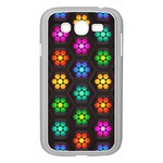 Pattern Background Colorful Design Samsung Galaxy Grand DUOS I9082 Case (White)